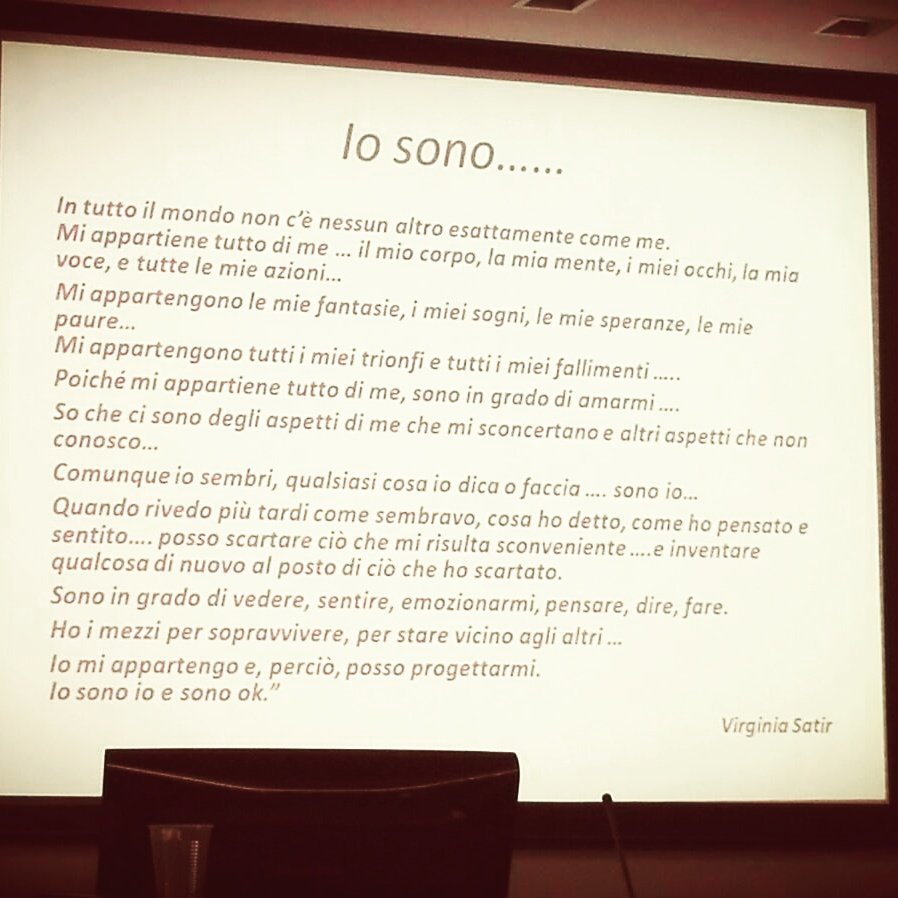 Io sono Io. Virginia Satir