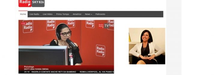 Intervista su Radio Radio Roma